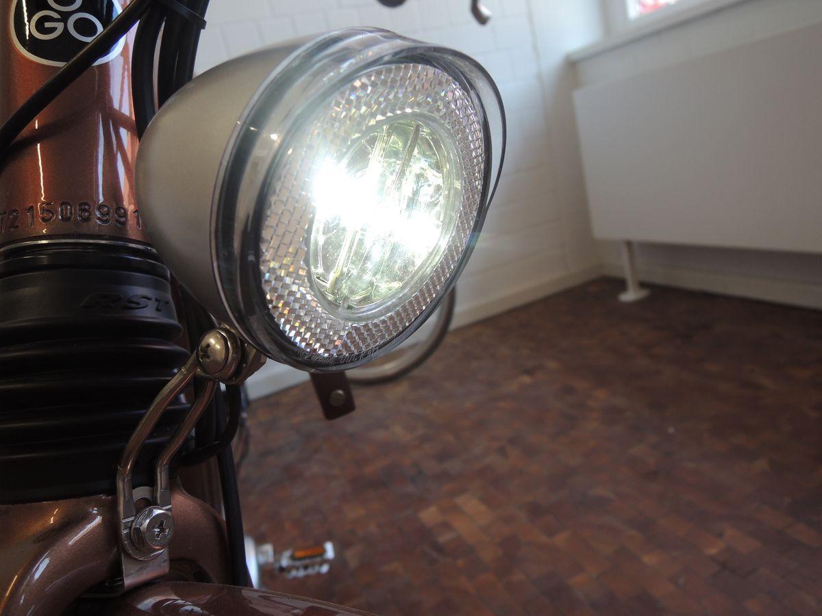 Ego Movement E-Bikes haben Standlicht mit automatischer Helligkeitsregelung