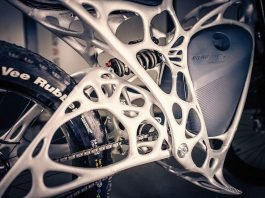 Light Rider Airbus ebike Rahmen