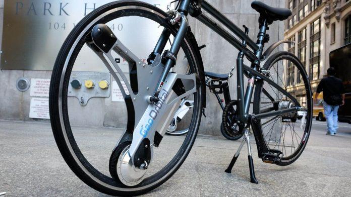 Geo Orbital Wheel Fahrrad Wird Zum E Bike In 60 Sekunden