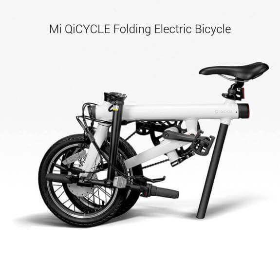 Xiaomi Mi Qicycle eingeklappt