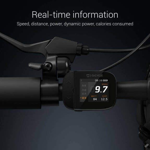 Xiaomi Mi Qicycle Display mit Fahrinformationen