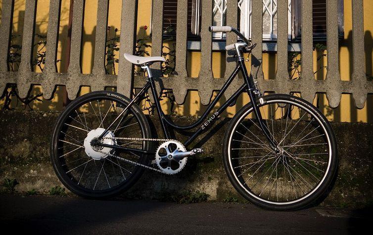 eBike mit integriertem Bike+ Motor