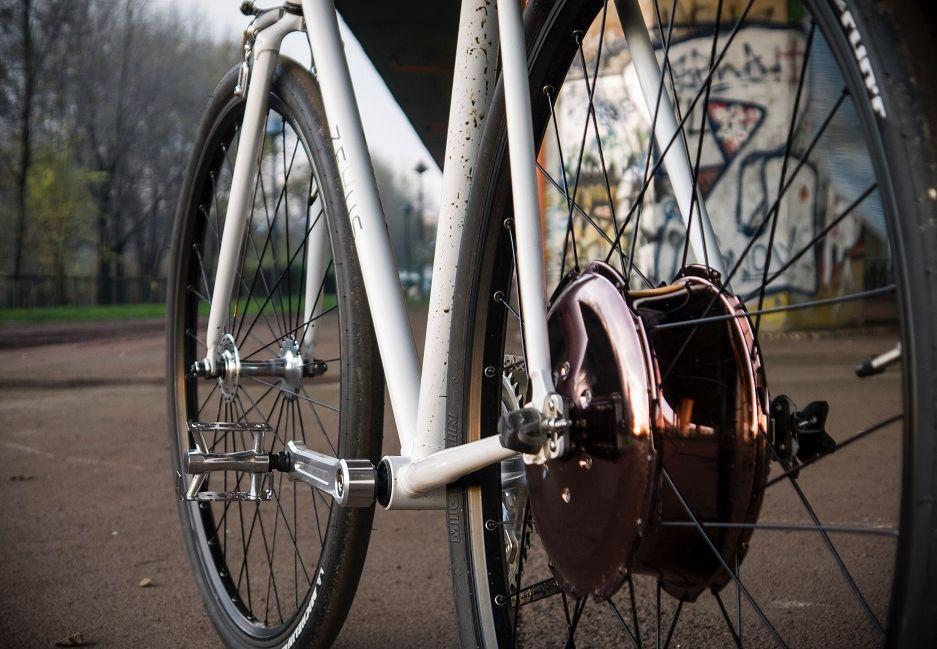 Alles in einem Rad