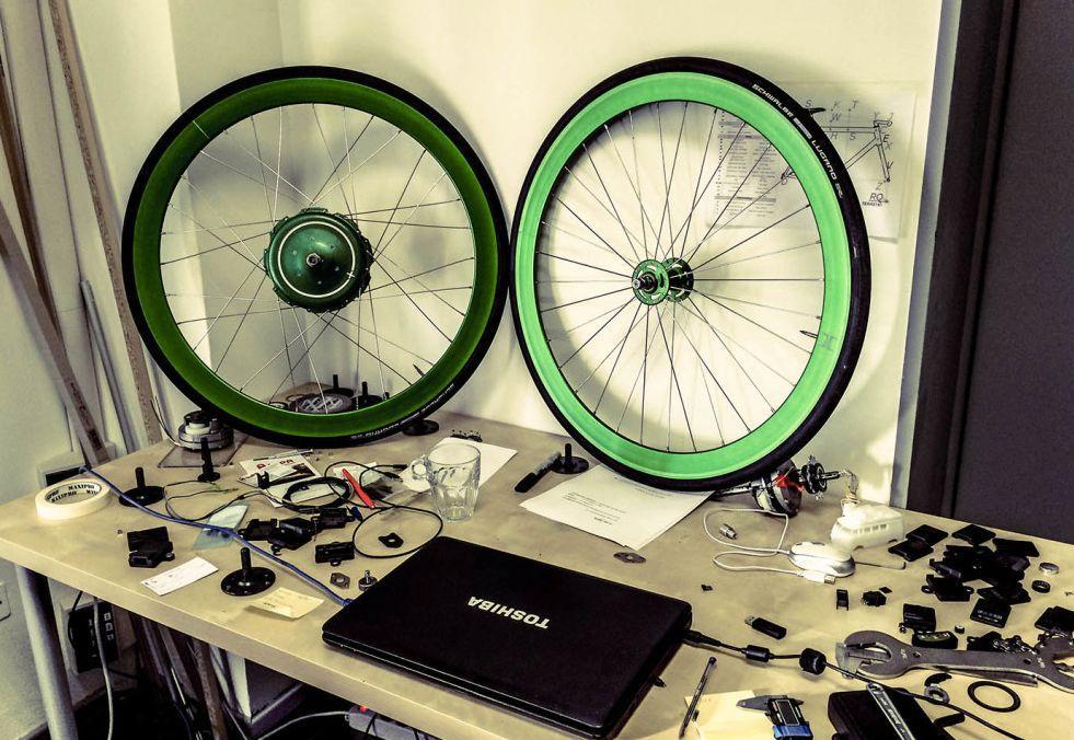 Noch mit Schwalbe Reifen - bald gibt Vittoria Gummi