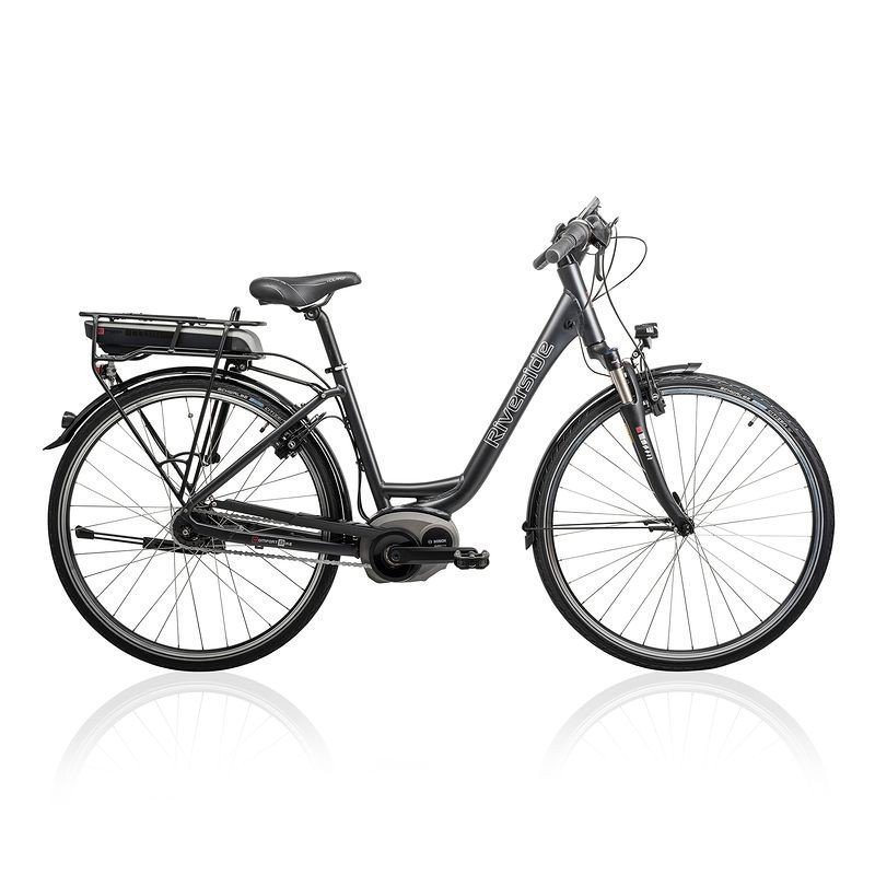 E-Bike Test 2016: Konnte im Test überzeugen - Das 1800€ eBike Decathlon Riverside.