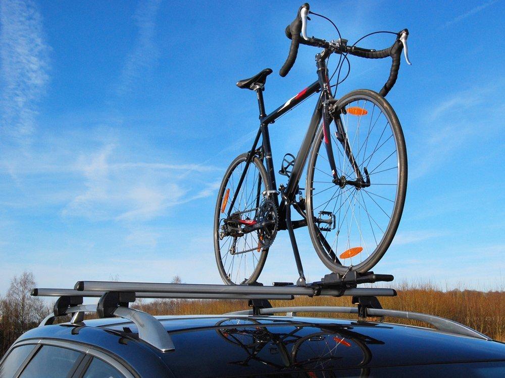 Superbike von Eufab - Dachträgeraufsatz für das Zweirad.