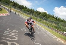 e-Bike Rennen bei Rad am Ring