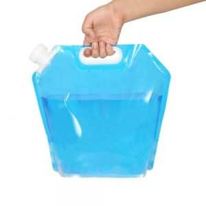 Flexibler Wasserkanister