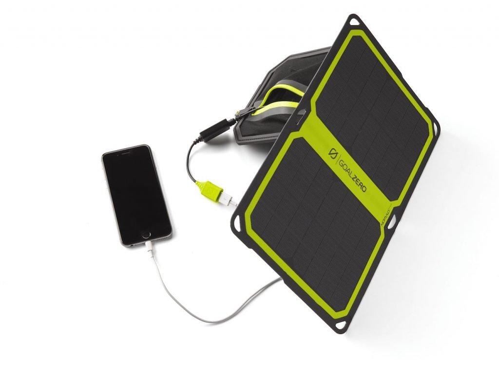 Autarke Stromversorgung mit dem Nomad 7 plus Solar Panel