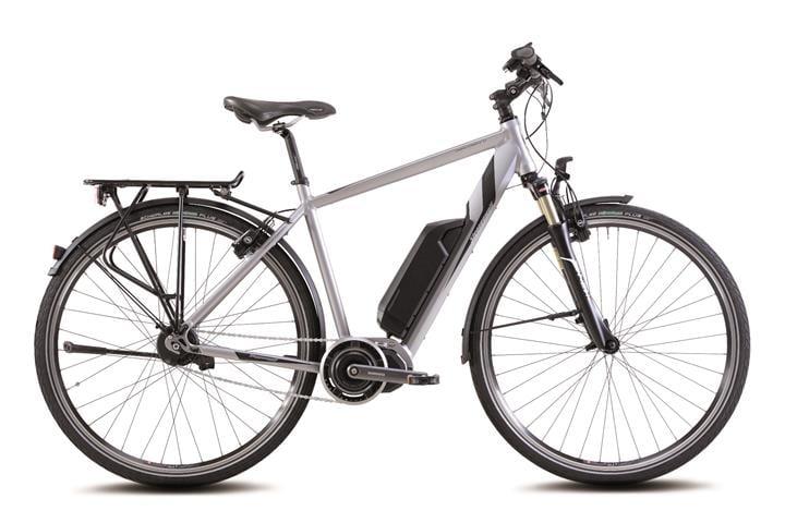 Das Transterra E 7.1 urbane Pendler e-Bike von MIFA ist auf der Eurobike 2016 zu entdecken