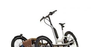 HNF Heisenberg CD1 Cargo Lasten-e-Bike mit Neigetechnik