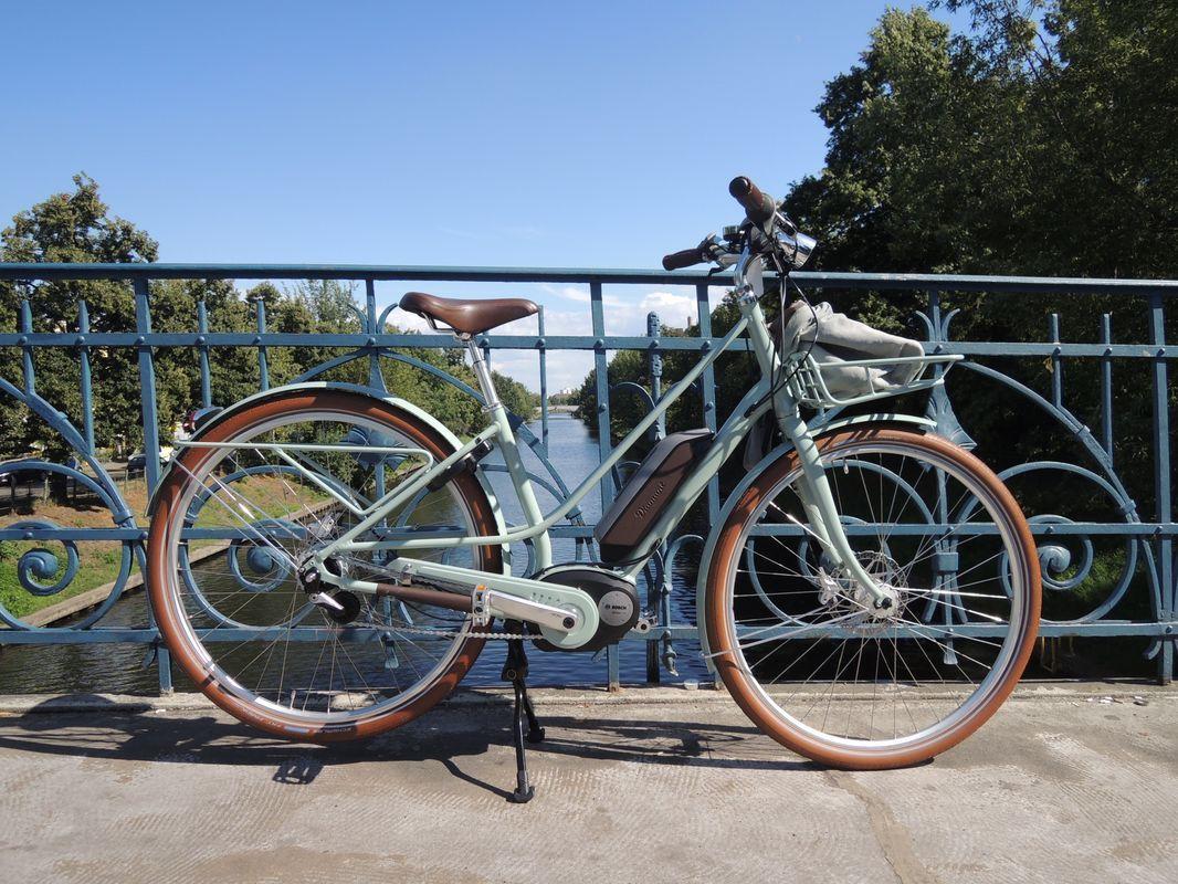 Zweibeinständer besteht den e-Bike Test