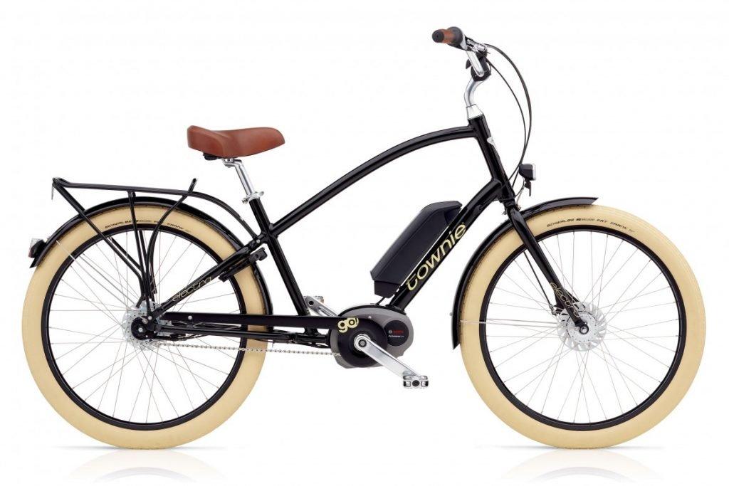 Der e-Bike Cruiser mit hohem Oberrohr