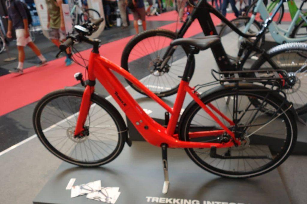 Integra Rahmen-Antrieb von TranzX ist im sportlichen e-Bike kaum zu erkennen
