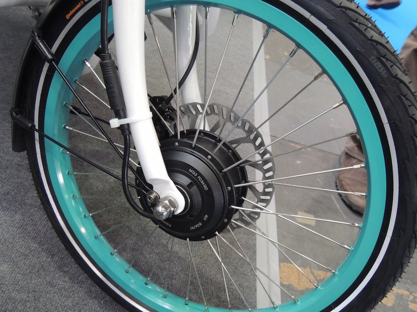 Marquardt e-Bike Antrieb im Vorderrad