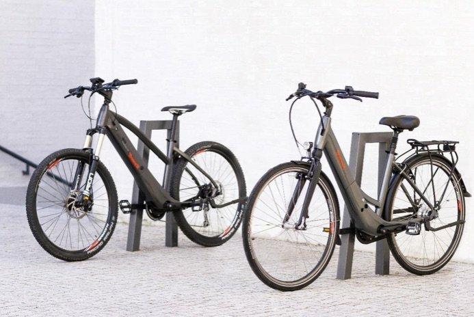 Integra e-Bike Rahmen-Antrieb in sportlicher Unisex und Waverahmen Variante