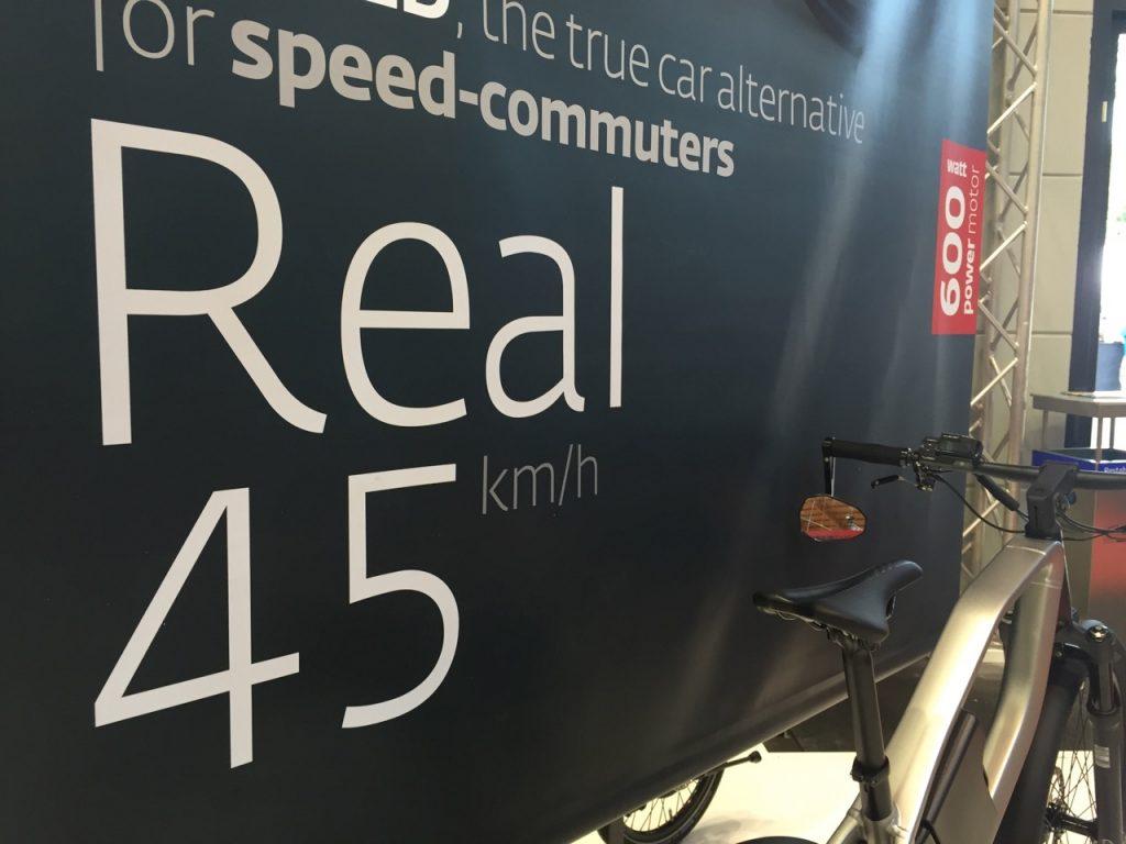 """Das S-Pedelec von Klever soll """"echte 45 km/h"""" schnell sein"""