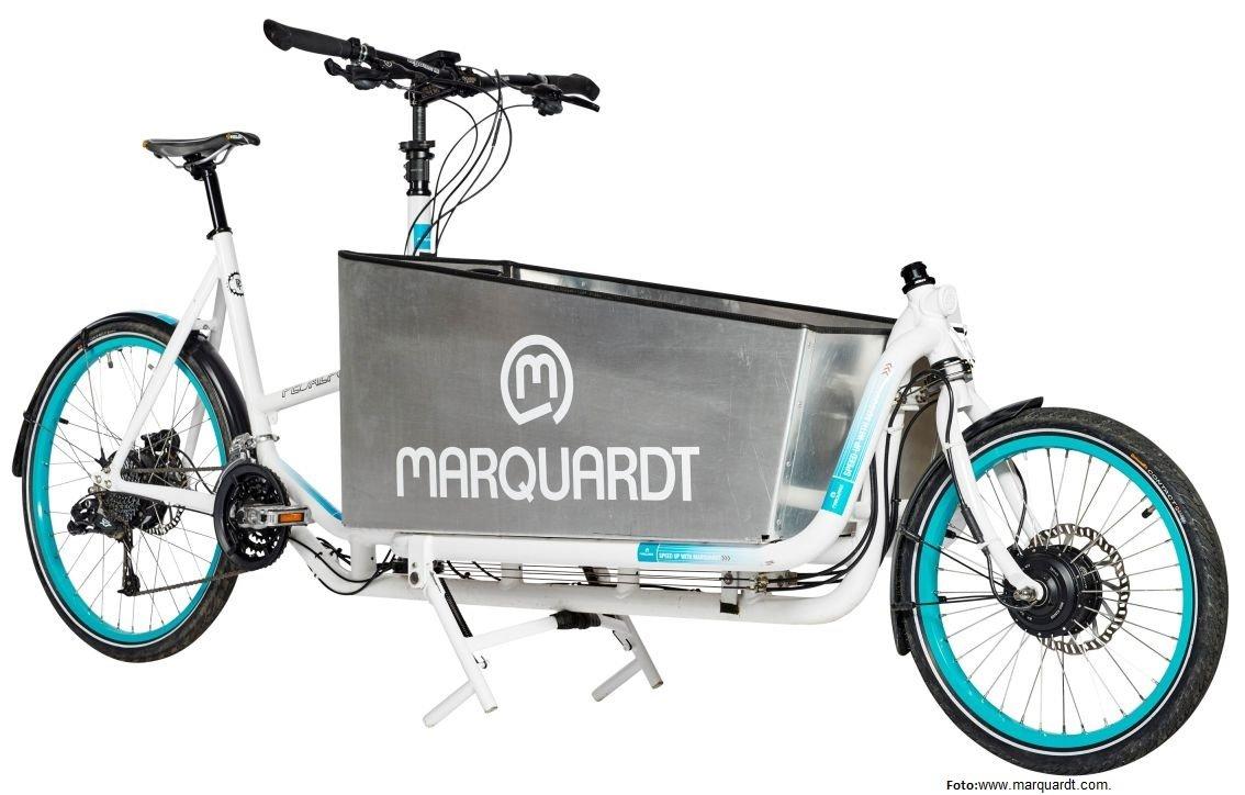 Marquardt Allrad-Antrieb im 50gk+ e-Lastenrad von Pedalpower