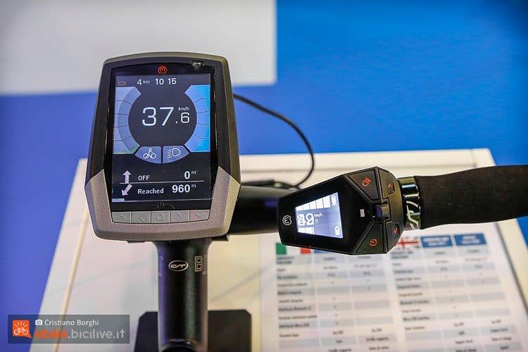 Marquardt Display und Steuerung am Polini e-Bike