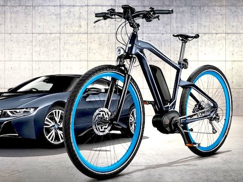 bmw e bike in limitierter sonderedition ebike. Black Bedroom Furniture Sets. Home Design Ideas