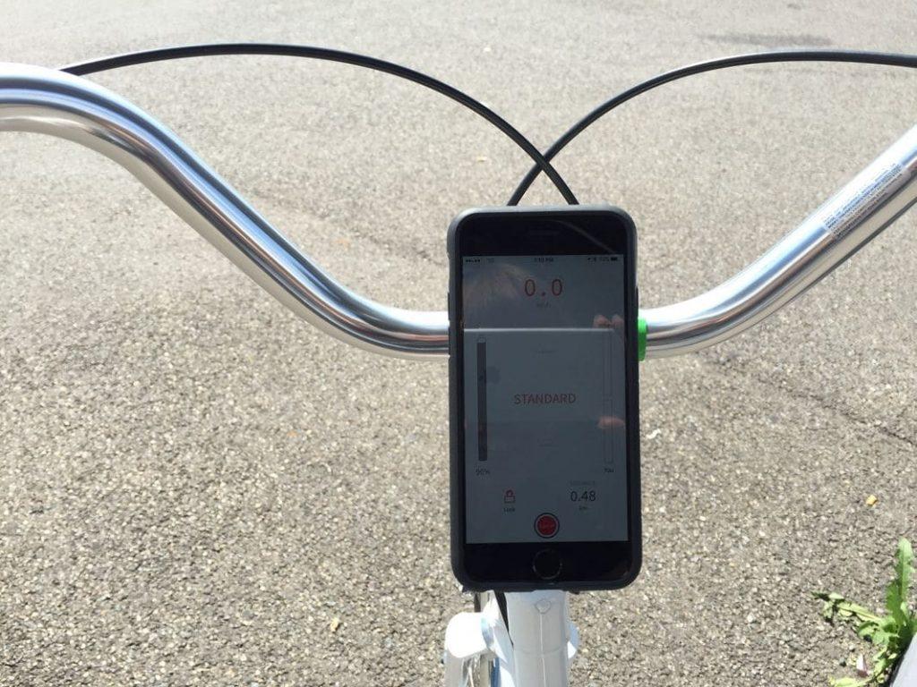 Smartphone Steuerung für das Elektro-Rad Copenhagen Wheel