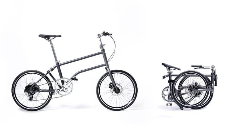 Falt e-Bike Vello mit idealen Packmaßen
