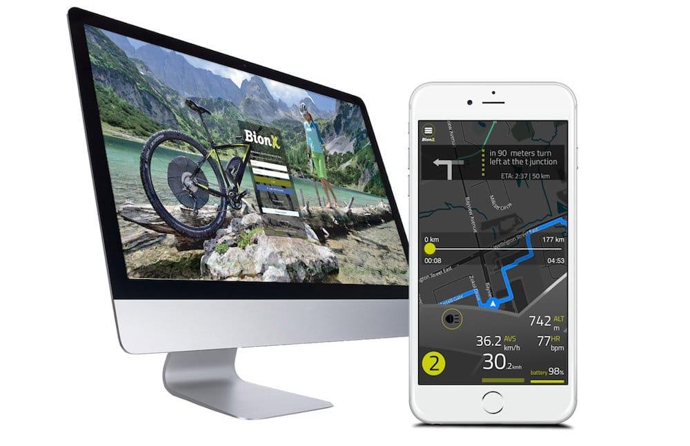 Umbausatz registrieren Computer mit BionX Smartphone App