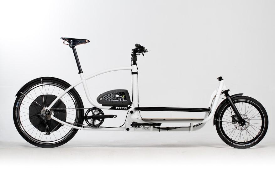 BionX Antrieb im Heck des Douze e-Lastenrad