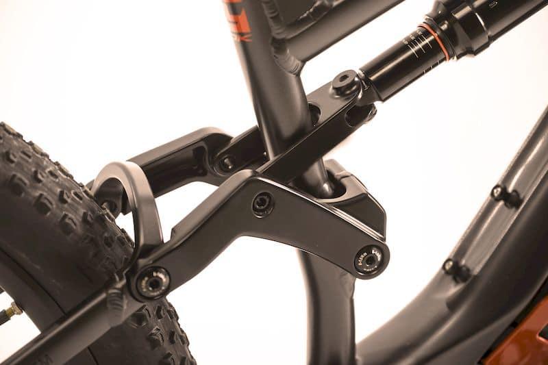 HInterrad-Dämpfung im MIG Thok e-Bike
