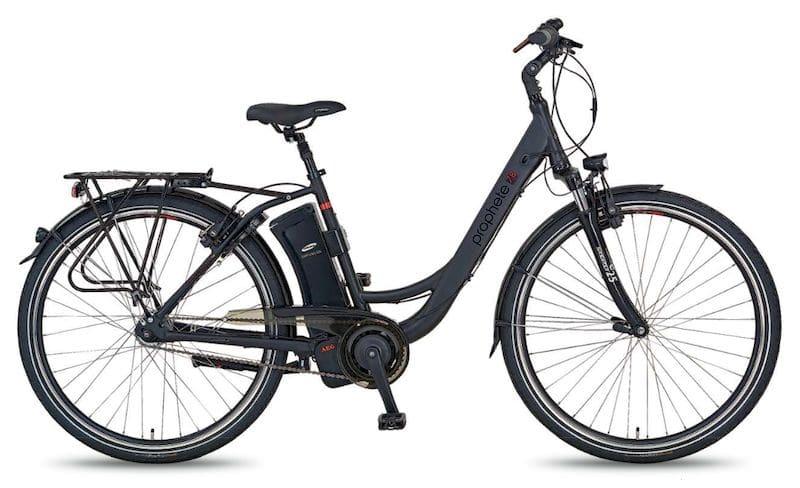neu 2017 prophete e bikes mit aeg antrieb ebike. Black Bedroom Furniture Sets. Home Design Ideas