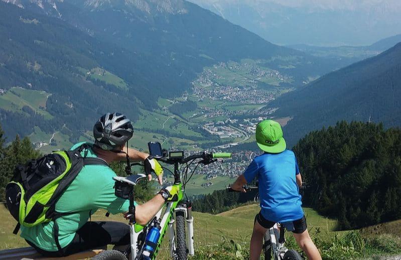 Ben-e-Bikes bringen Kids zum Panorama