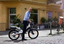 A2B e-Bike unterwegs in Berlin