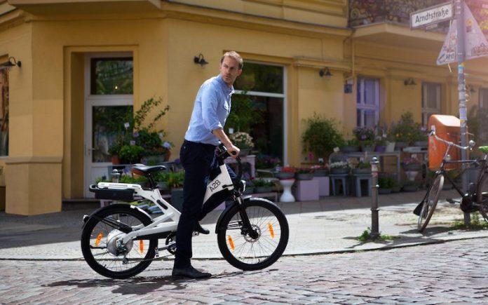 A2B e-Bike unterwegs in Berlin