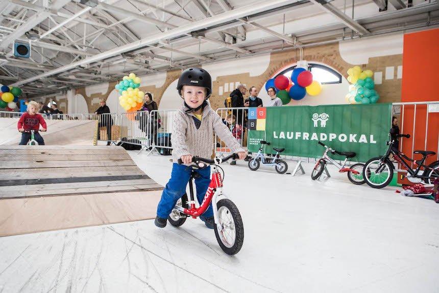 2017 Berliner Fahrradschau KIDS Jaqueline Schulz