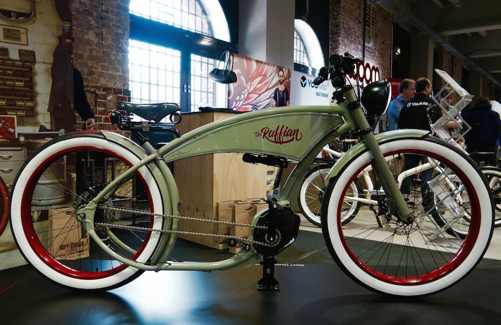 Chopper Style für Ruffian Custom-e-Bike von Ruff Cycles