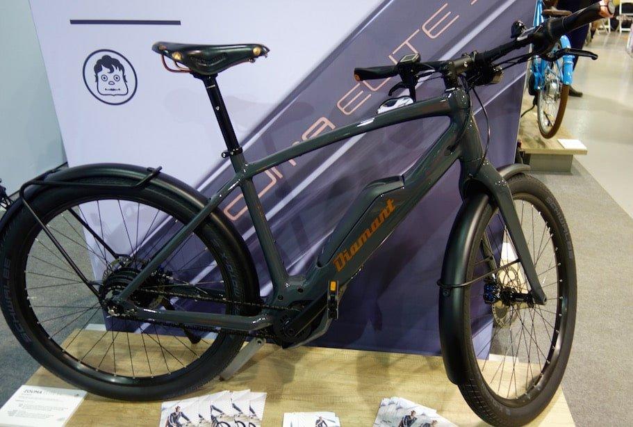 Zouma+ E-Trekking Bike von DIamant