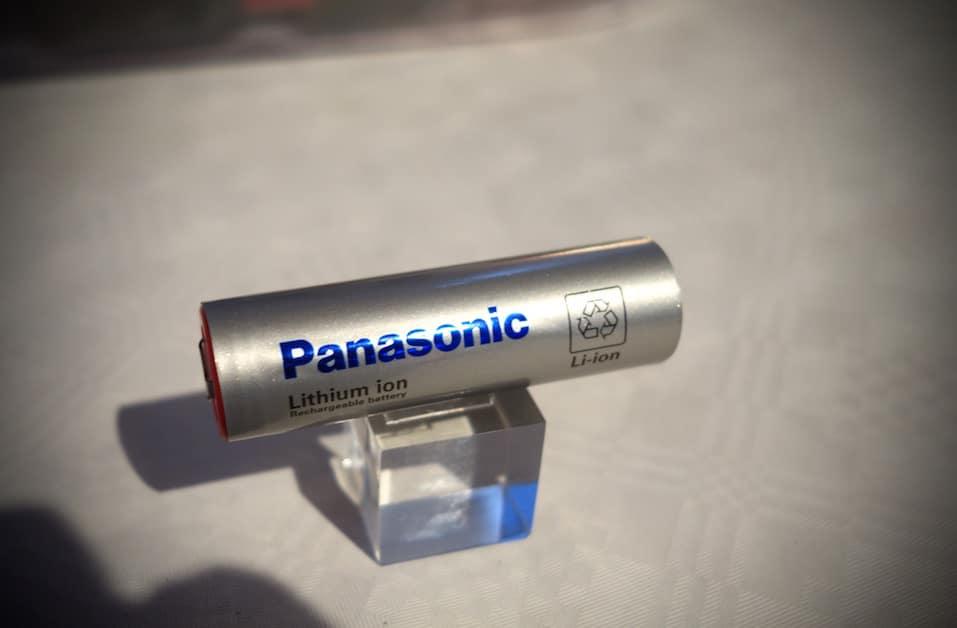 Panasonic Li-ion Zelle