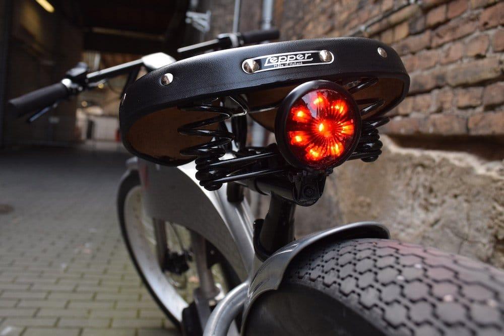 Ruff Cycles achten auf die Ausstattung