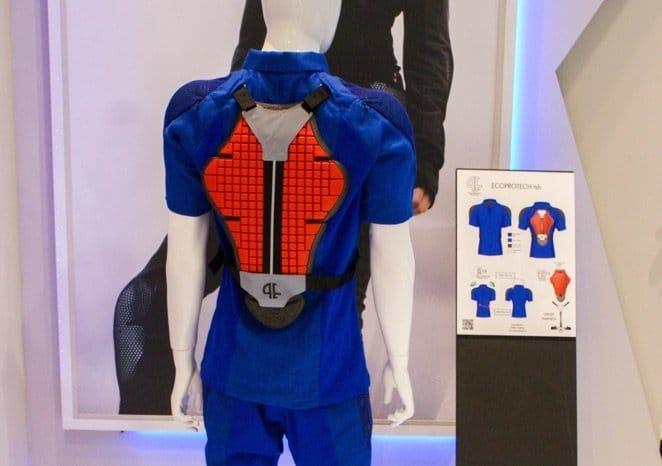 Rücken-Protektor von Pure Electric E-Bike Kleidung