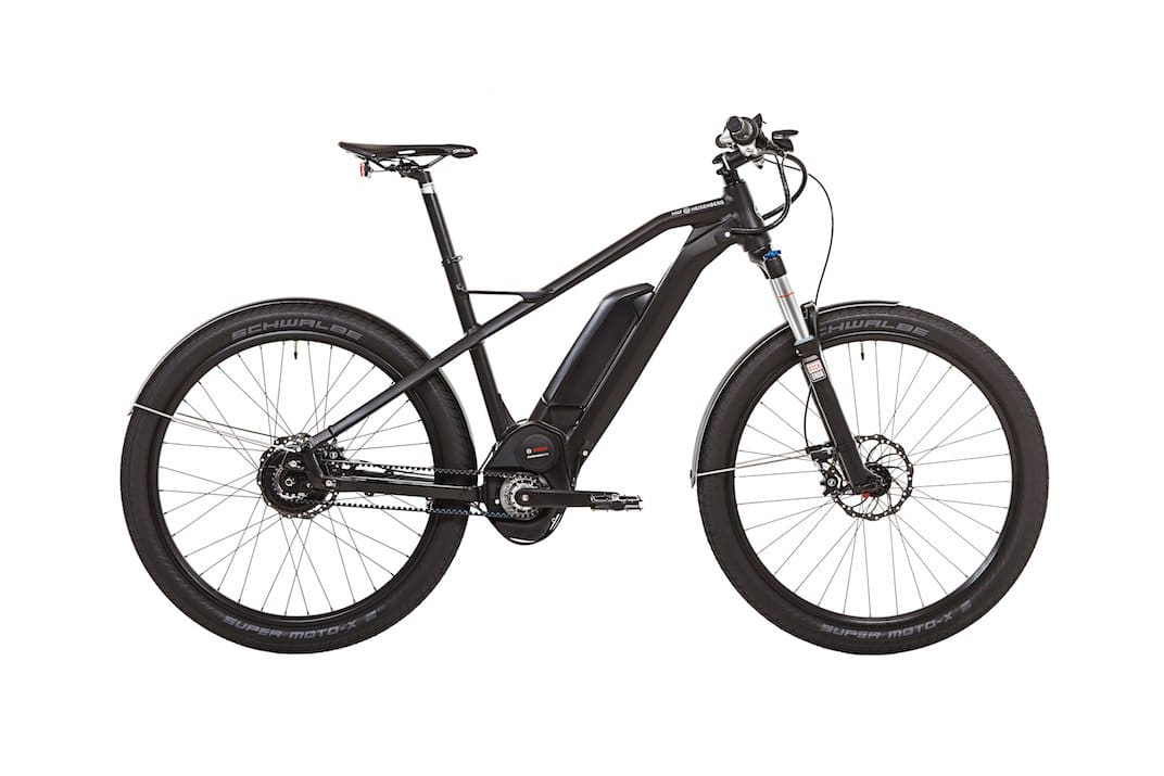 XD1 Urban e-Bike von HNF Heisenberg