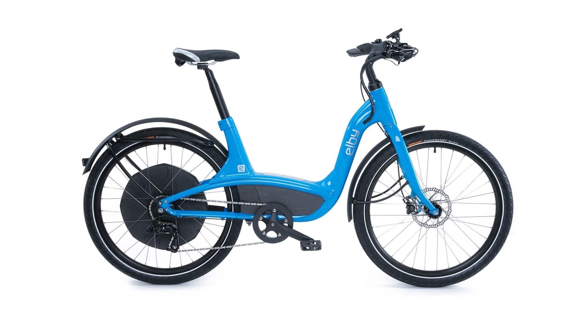 Komfort e-Bike Elby in Blau