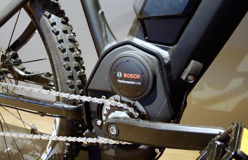 Kettenschaltung plus Bosch Performance Line im XD1 Trail
