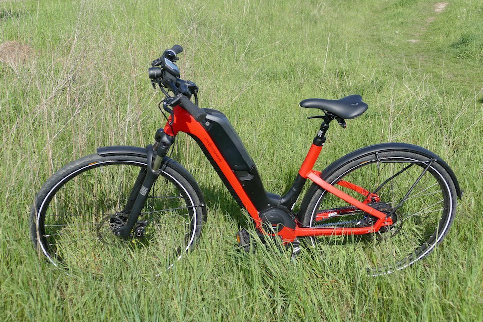e bike test ud1 ein city pedelec zum vorzeigen ebike. Black Bedroom Furniture Sets. Home Design Ideas