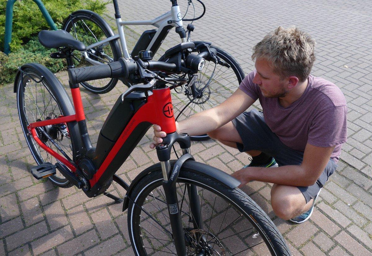 HNF E-Bikes: Wie funktioniert die Probefahrt zuhause? - ebike-news.de
