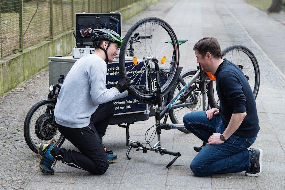 ACV Pannenhilfe für Fahrrad und E-Bike