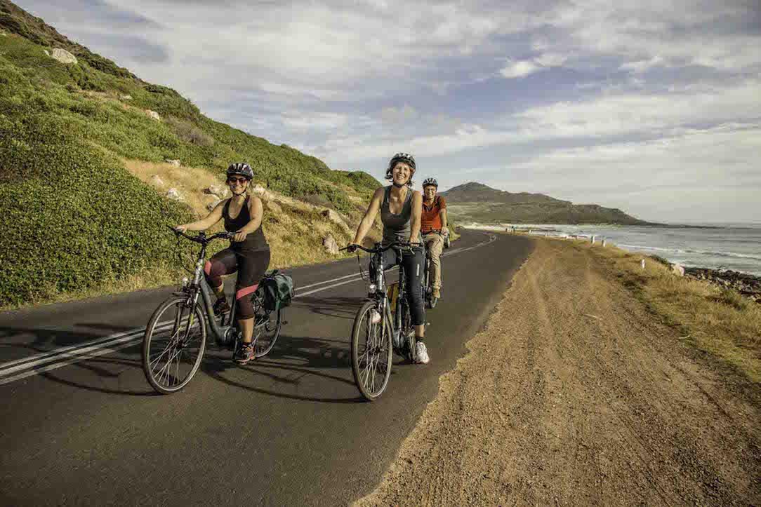 Auf e-Bike Reise entlang der Küste Südafrikas
