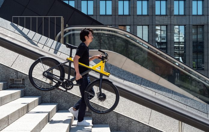 Electrified X e-Bike VanMoof Japan