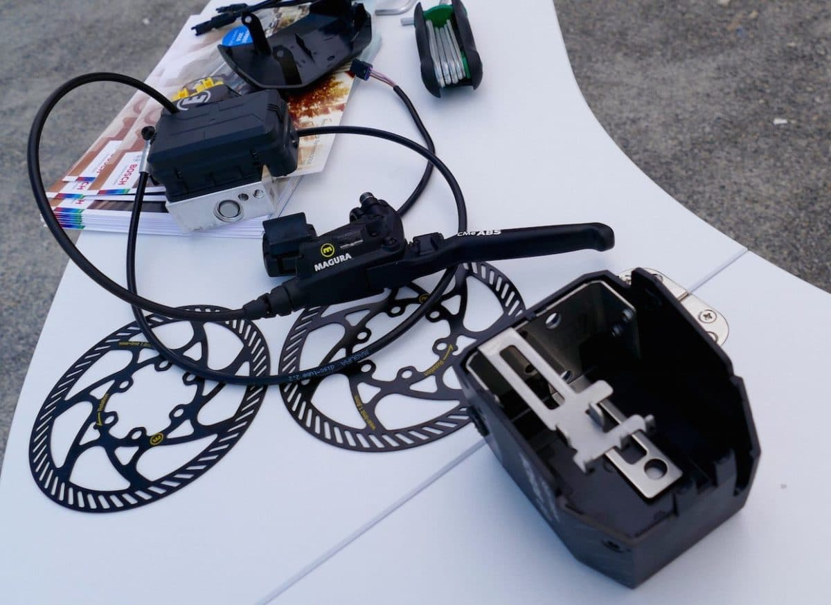Magura CMe ABS Bremse und Bosch Kontrolleinheit