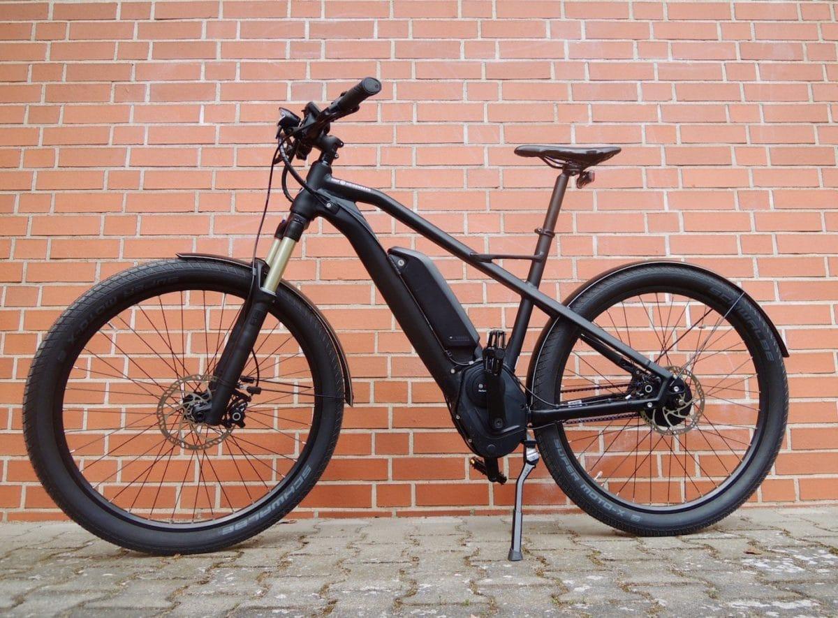 XD1 Urban von HNF HEISENBERG mit Bosch Performance CX 25