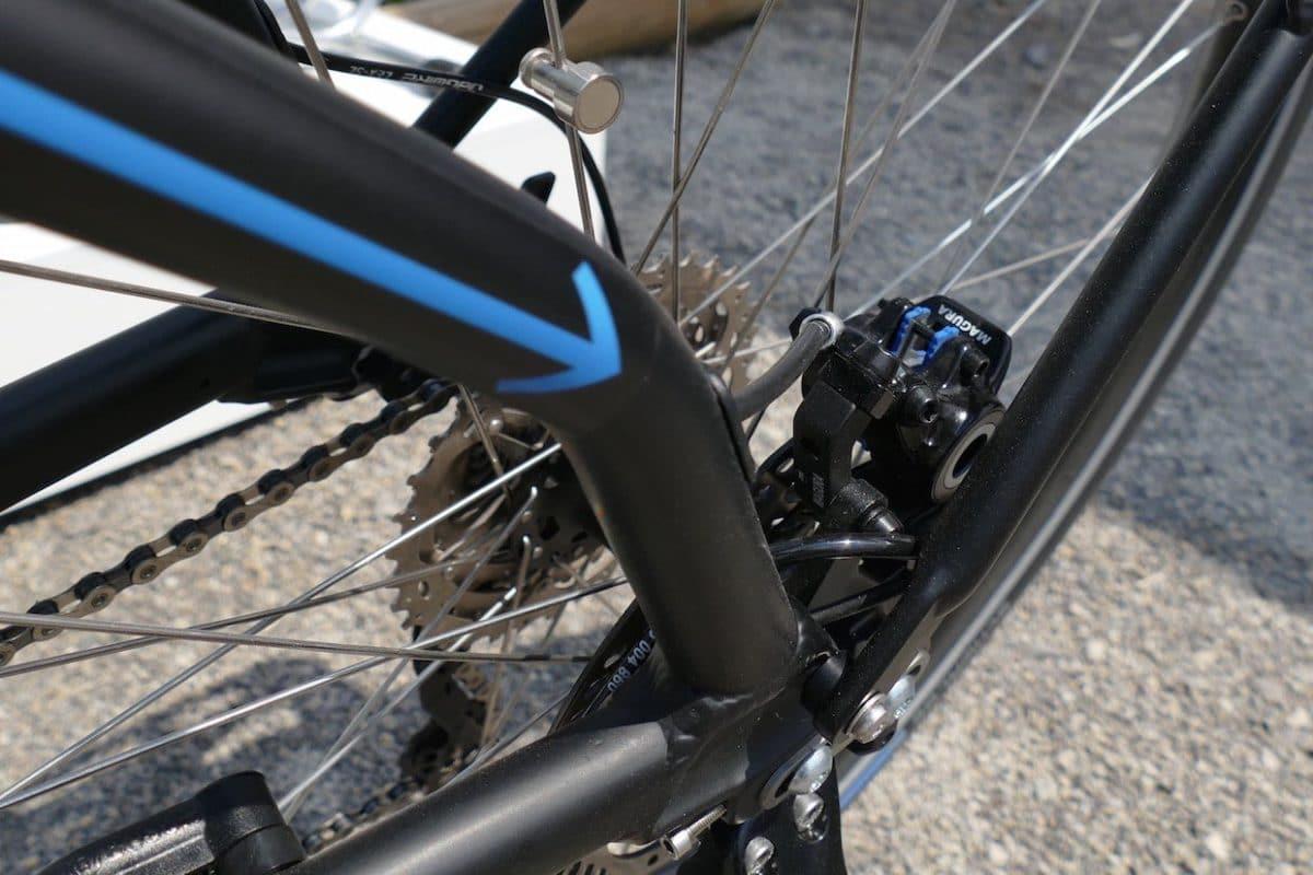 eBike ABS Radgeschwindigkeitssensor hinten